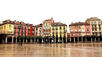 Rainswept Plaza Mayor