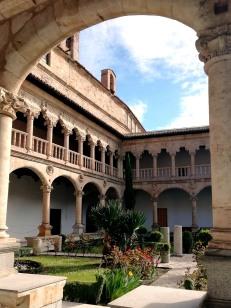 Renaissance courtyard of Convento de las Duenas