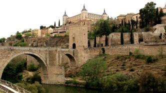 Roman bridge over River Tagus
