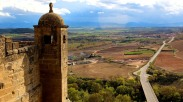 St Vicente lookout over Ebro Valley