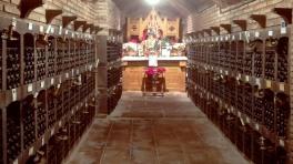 Valdelana subterranean wine chapel