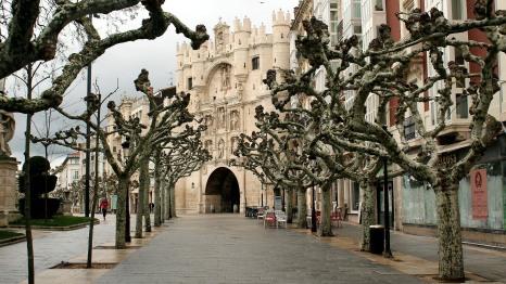 View of Arco de Santa Maria