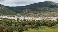 Algodonales across the hills
