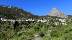 Grazalema in the mountains