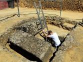 Ladder to dead Romans