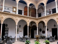 Spain's first Parador interior