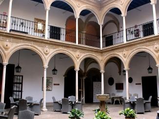 Spain's first Parador interior