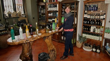 Sampling Baeza olive oil