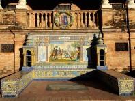 Toledo tiled booth