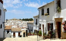 Whitewashed houses of Cuestra Santa Maria