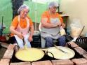 Bubbling polenta pots