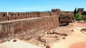 Fortress sandstone walls