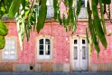 Pink tiled townhouse