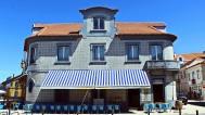 Tiled seafood restaurant