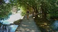 The boardwalk into Krka National Park