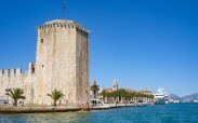 Trogir by water taxi
