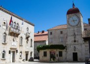 Trogir town hall and bell tower